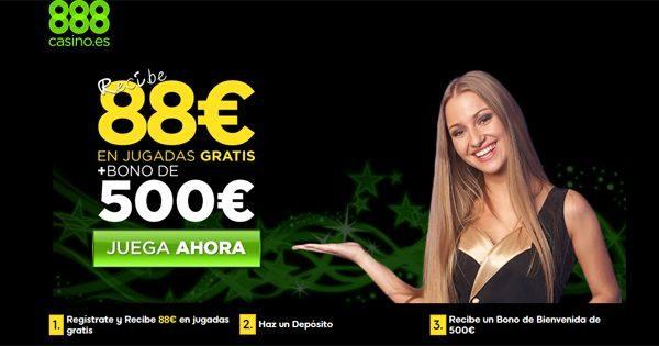 bono de bienvenida casino 888