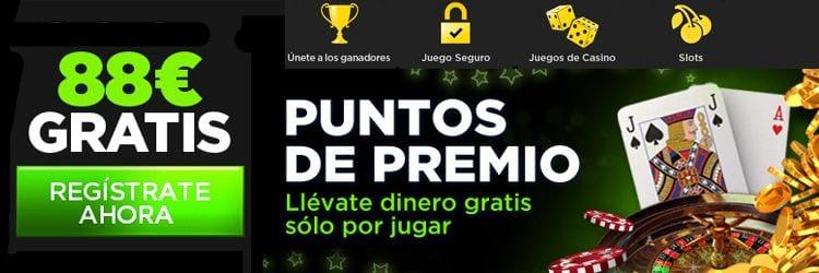 Puntos 888 casino