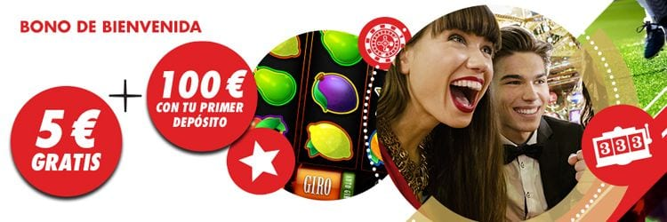 Circus casino bono 100 euros