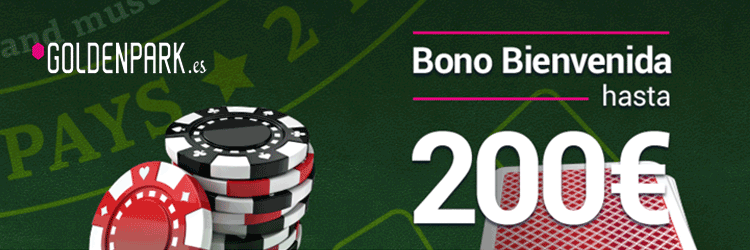 Bono de bienvenida Goldenpark hasta 500€