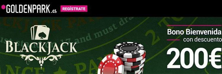 Goldenpark casino bono bienvenida