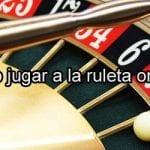 Ruleta online jugar