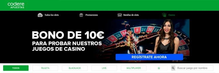 Sala casino codere