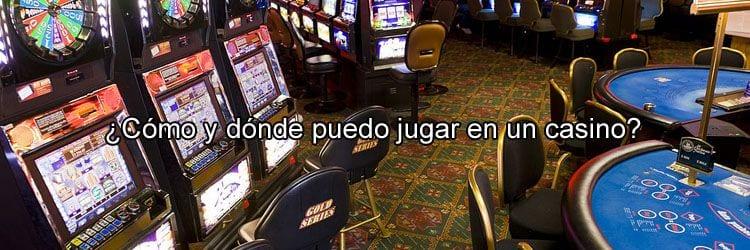 Jugar en un casino