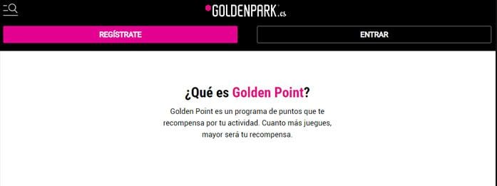 Programa VIP Goldenpark