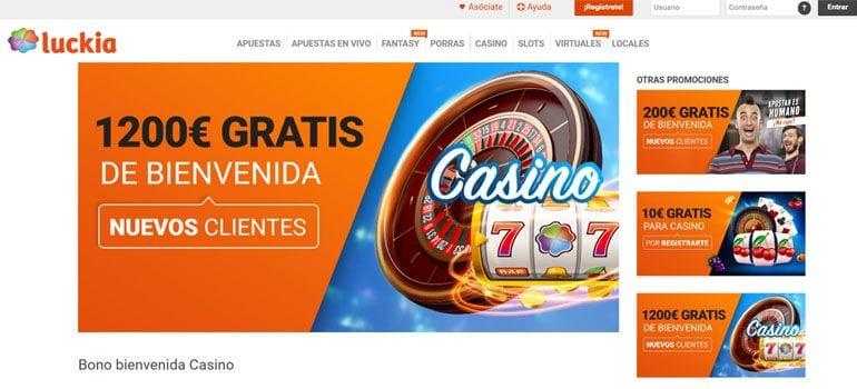 Luckia bono casino
