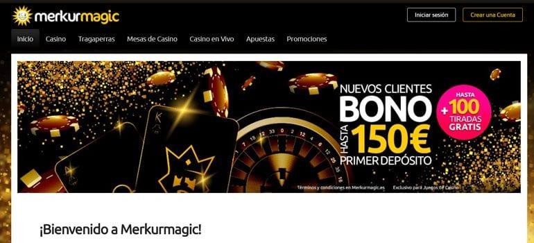 Merkur Magic casino bono
