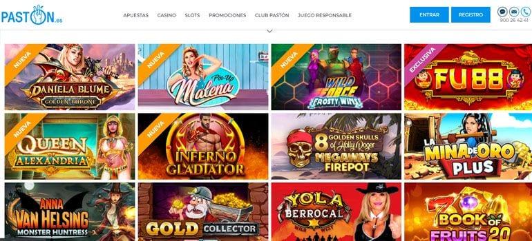 paston casino online
