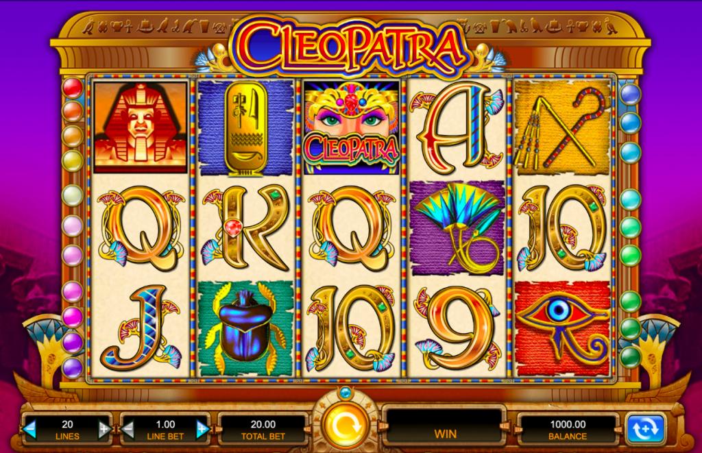 Tragamonedas online Cleopatra
