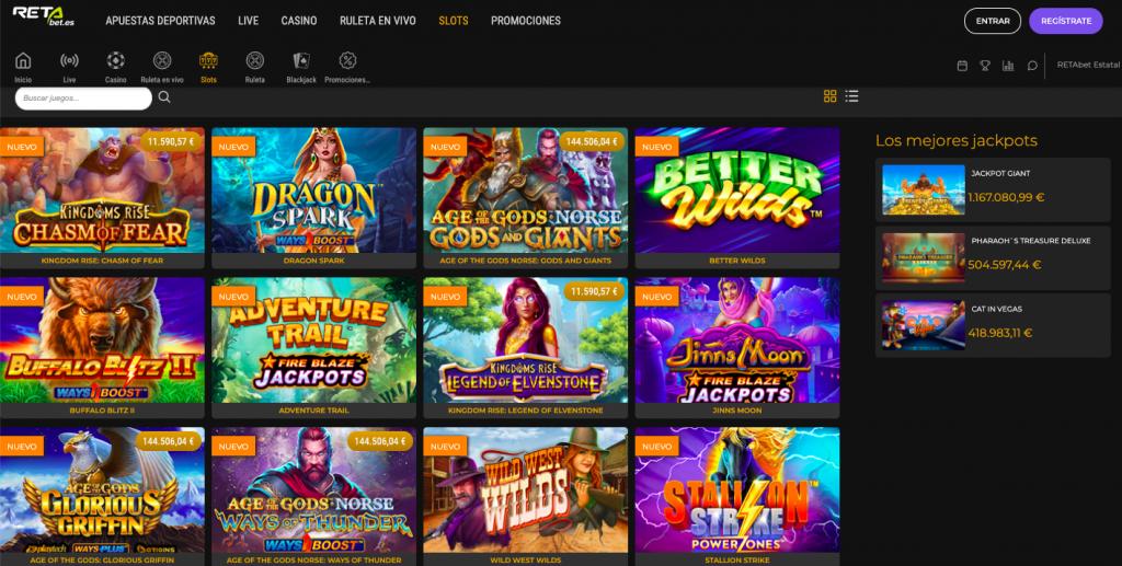 Slots online Retabet