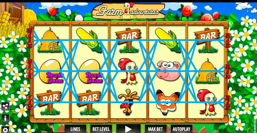 Slot online Farm Adventures