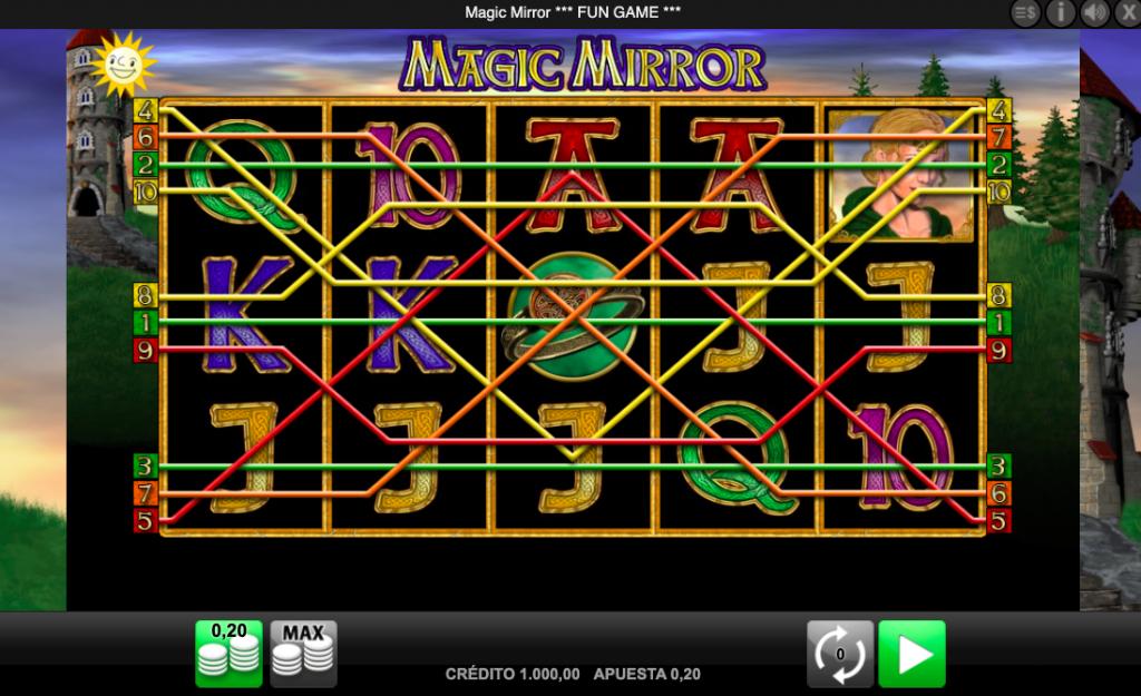 Tragamonedas online Magic Mirror