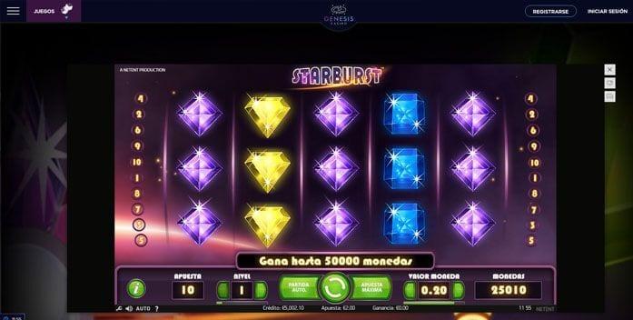 juegos online genesis casino