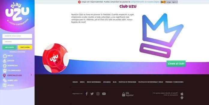 Club vip playuzu