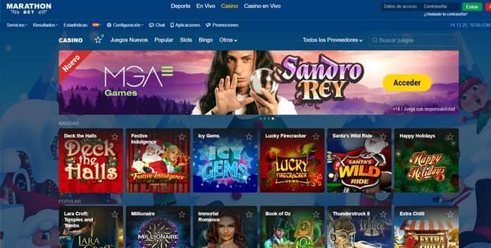 Casino online marathonbet